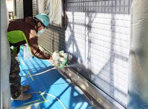 タケガワ塗装 職人 塗装工事