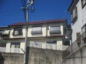 三重県 四日市市 F様邸 屋根・外壁塗装工事