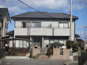 三重県 松阪市 S様邸 外壁塗装工事