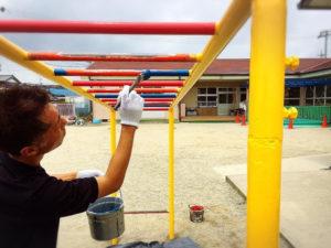 タケガワ塗装 小学校 タケガワふれあい動物園