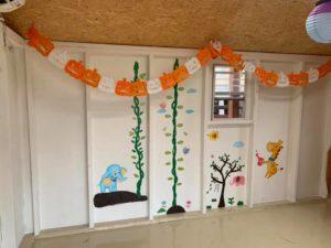 壁面アート 松阪市 タケガワ塗装 タケガワふれあい動物園