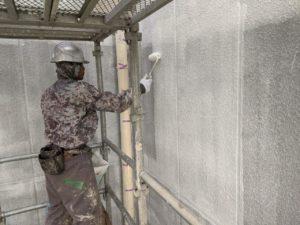 外壁塗装 公共施設 8回塗り