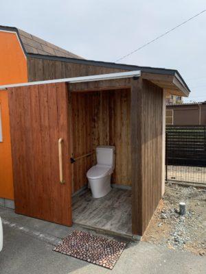 タケガワふれあい動物園 車椅子用トイレ
