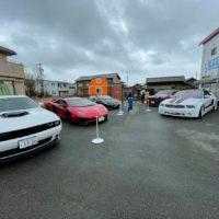 スーパーカー展示 タケガワふれあい動物園