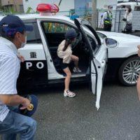 パトカー展示 松阪警察署 タケガワふれあい動物園