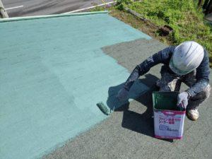 下塗り アスファルトシングル屋根塗装 タケガワ塗装