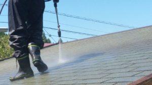 高圧洗浄 屋根塗装 アスファルトシングル屋根 タケガワ塗装