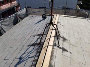 台風と経年劣化による屋根板金修理 タケガワ塗装