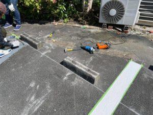 松阪市インバーハウス-白線塗り替え タケガワ塗装